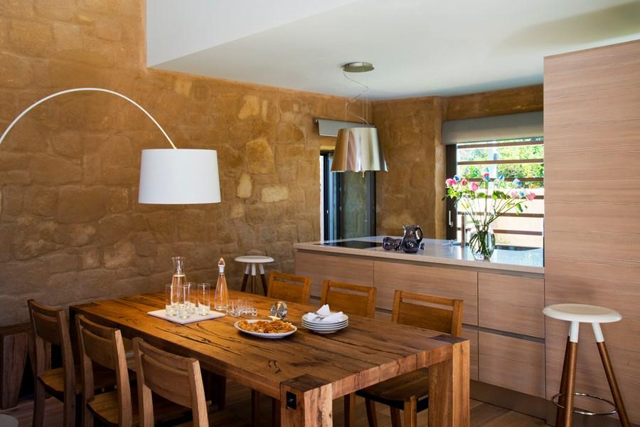 dining area of alivia villa